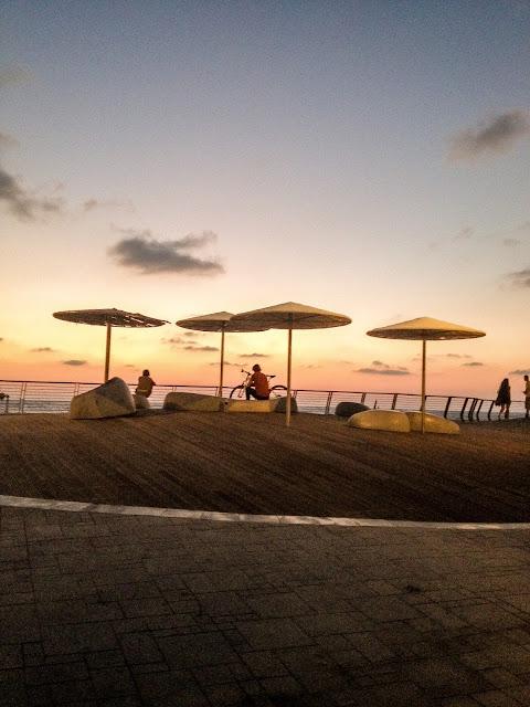 Набережная Тель-Авива | Блог Rimma in Israel