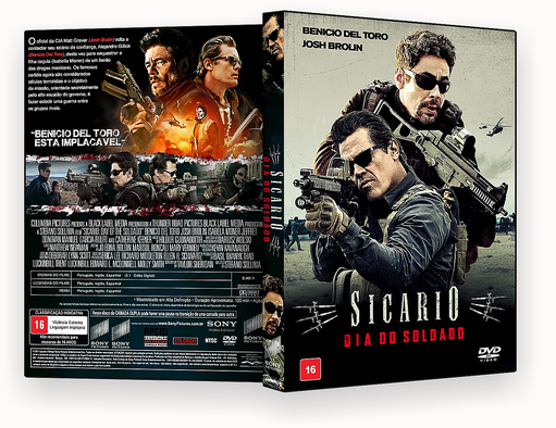 CAPA DVD – Sicario Dia Do Soldado DVD-R