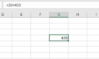 Calcolo Excel
