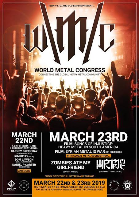 Resultado de imagem para World Metal Congress: primeiro congresso mundial sobre heavy metal
