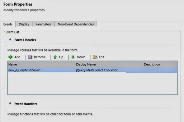 MS CRM Tutorials: Multi Select Checkbox in MS CRM 2011 using