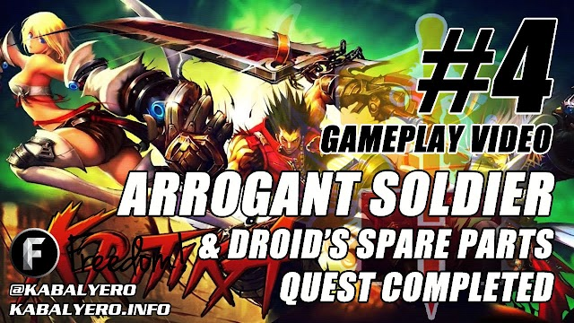 Kritika Online Gameplay #4 • Completed The Arrogant Soldier & Droid's Spare Parts Quest