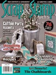 published in scrap & stamp arts magazine April 2015 issue