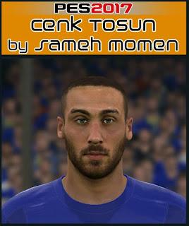 PES 2017 Faces Cenk Tosun by Sameh Momen