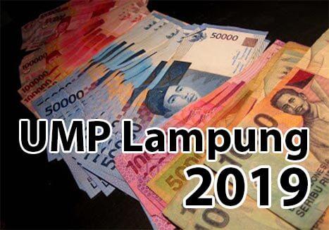 UMP Lampung 2019