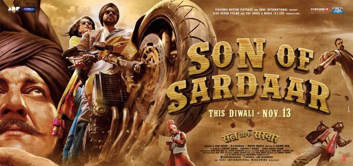 Son Of Sardar Movie Wallpapers Hd: Ap 35mm Dts: Son Of Sardar (2013) Hindi Movie Watch Online