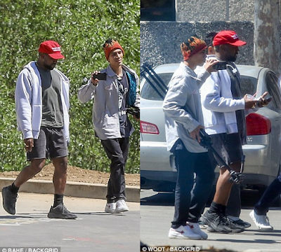 Kanye West Displays His Love For Donald Trump, Steps Out Wearing MAGA Hat