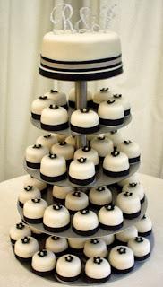 Cupcakes Blanco y Negro, parte 3
