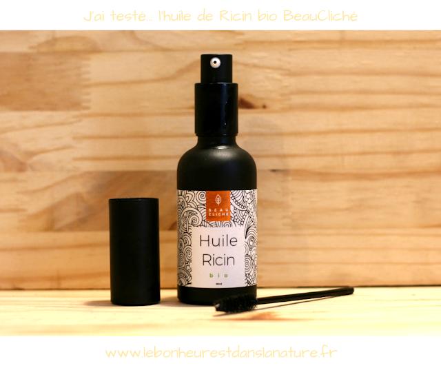 Des cheveux et des cils plus volumineux avec l'huile de Ricin bio BeauCliché ?
