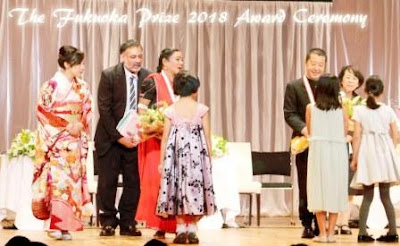 Pandwani singer Padmabhushan Dr Tejanbai honors International Fukuoka Art Award in Japan
