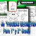 Fichas de figuras geométricas para 1° y 2° Grado