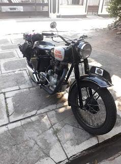Dijual Motor Tua Antik royal enfield 56 england  350 cc