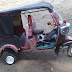 Nigerian Boy Constructs Tricycle With Slippers  (Photos)