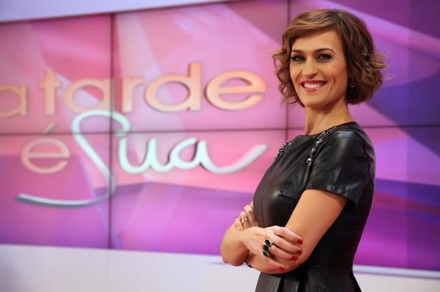 Fátima Lopes será substituída no 'A Tarde é Sua'. Descobra por quem