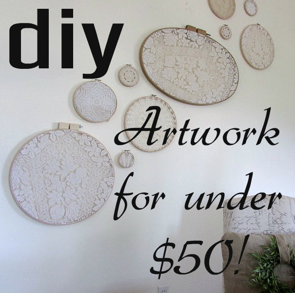 diy artwork or wall decor that is cheap