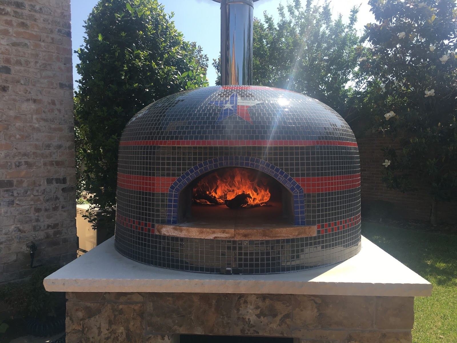 My Wood Burning Pizza Oven