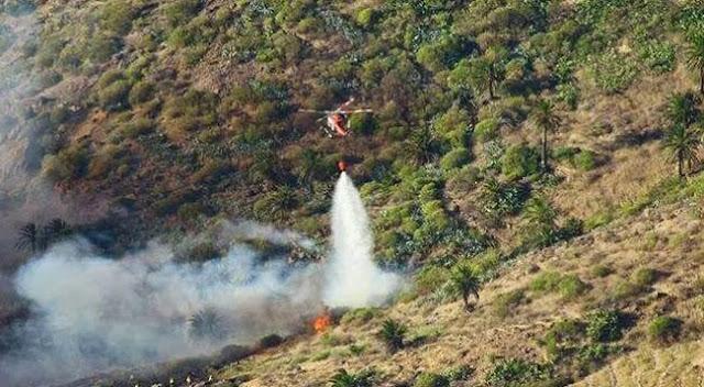 activan alerta por riesgo incendio foresta Gran Canaria 25 julio tenerife El Hierro, La Gomera, La Palma