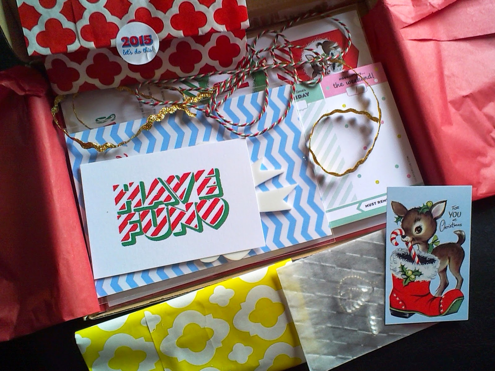 Lucky Dip Club December 2014 Box