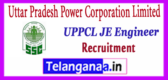 UPPCL JE Uttar Pradesh Power Corporation Limited Junior Engineer Recruitment 2017