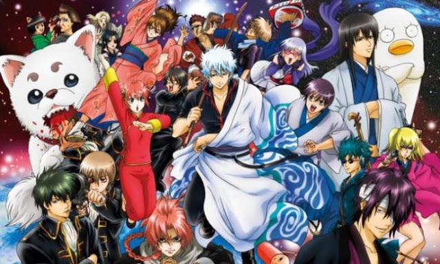Gintama - Anime Tokoh Utama Pura-pura Lemah