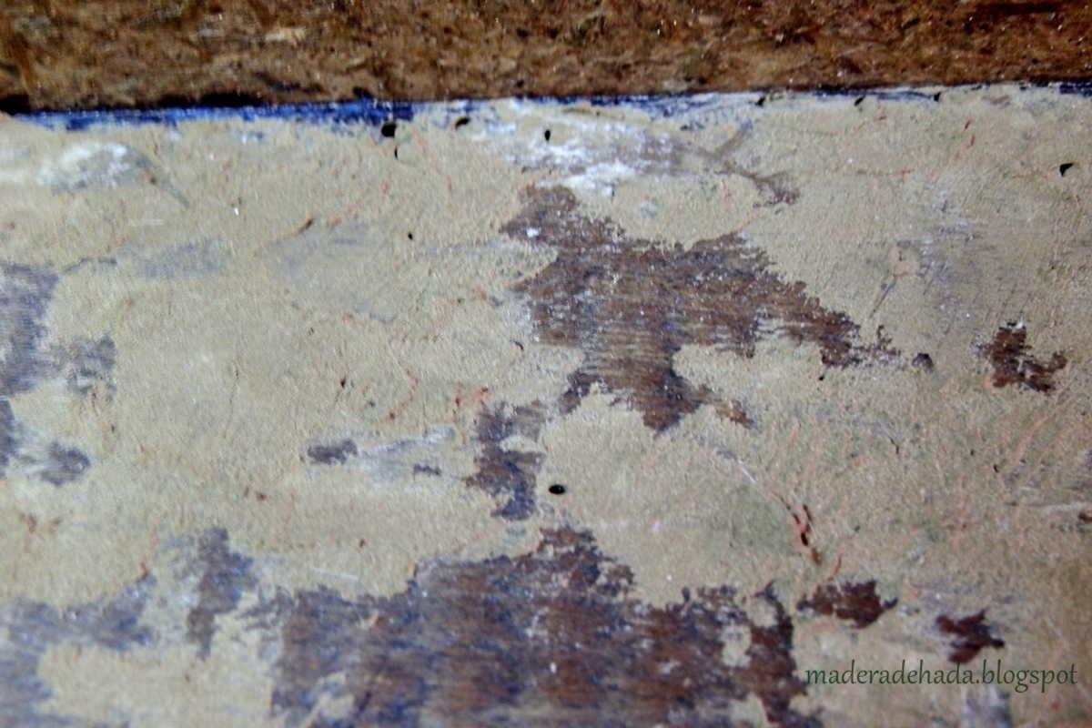 Como eliminar la carcoma de los muebles madera de hada - Masilla para tapar agujeros en madera ...