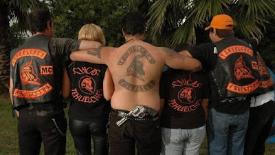 Gangsterism Out : Hells Angels Shootout in Argentina