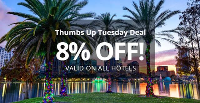 限時72小時!連鎖酒店都用得,Otel .com【92折優惠碼】有效至2016年3月11日。