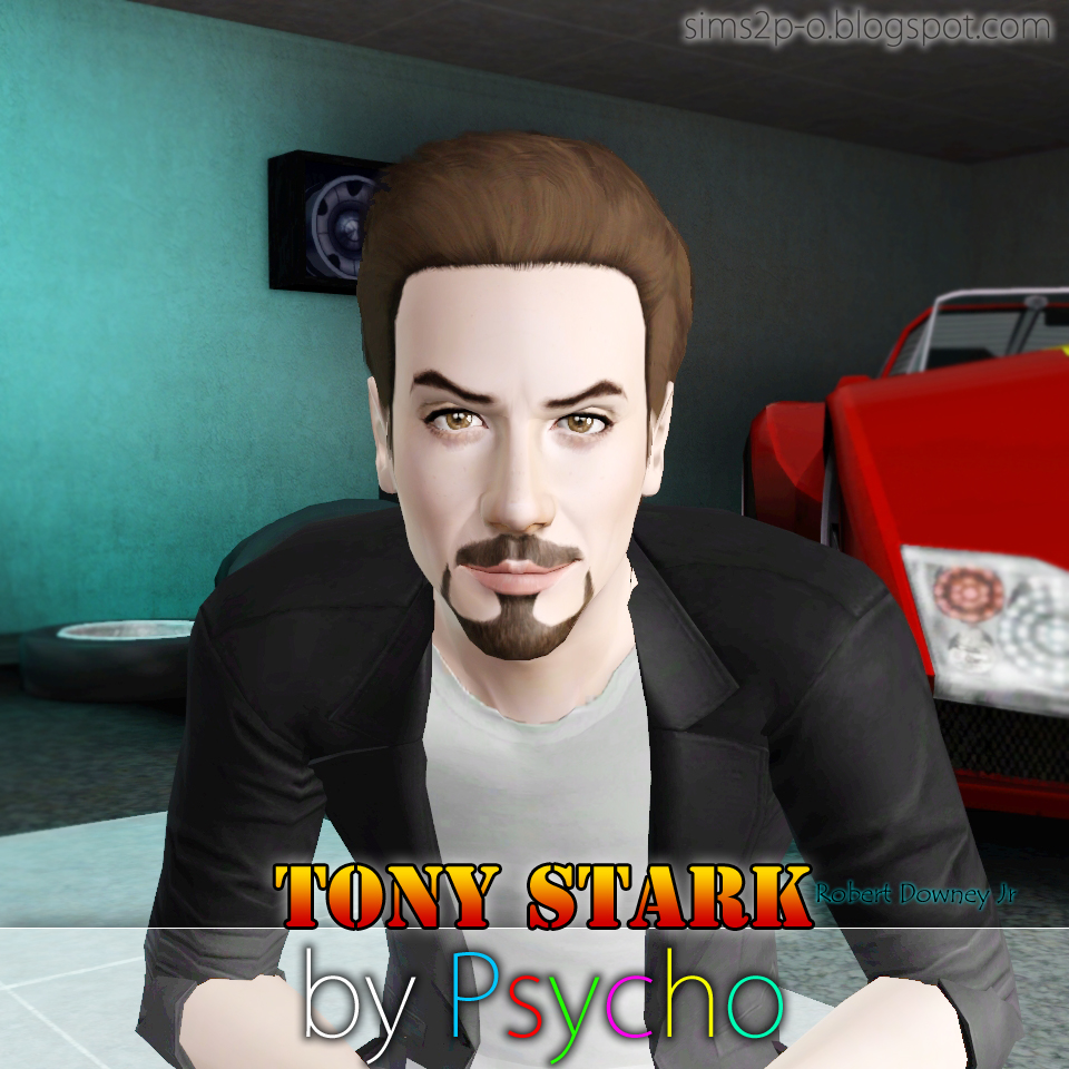 My Sims 3 Blog Tony Stark By Psycho