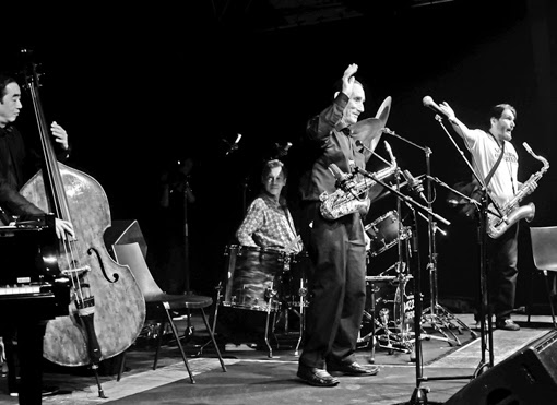 Steve Grossman Peter King quintet festival miles davis be-bop hard bob be bop jazz en baie granville carolles plage