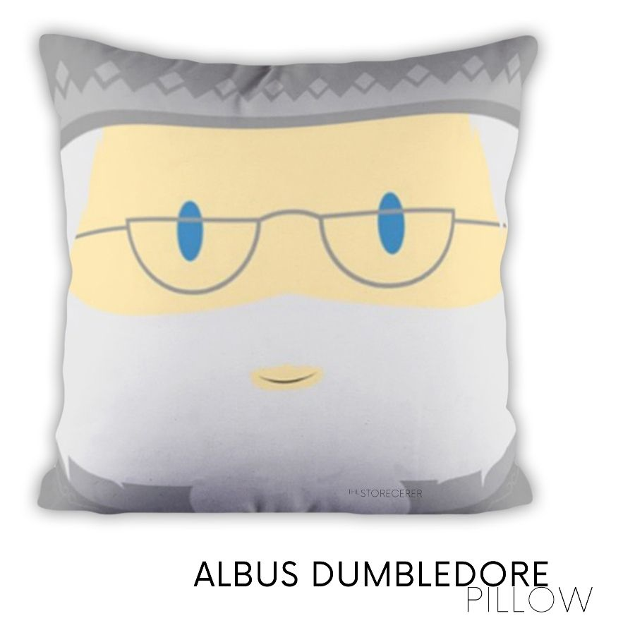 bantal kotak albus dumbledore