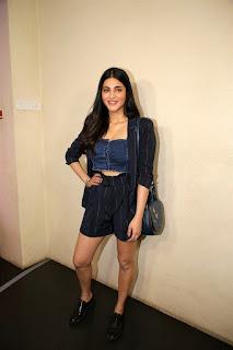 Shruti Haasan at F2 Telugu Movie Special Screening in Cinepolis Andheri Mumbai