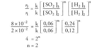 Soal kimia SMA tentang laju reaksi dan pembahasannya nomor 4