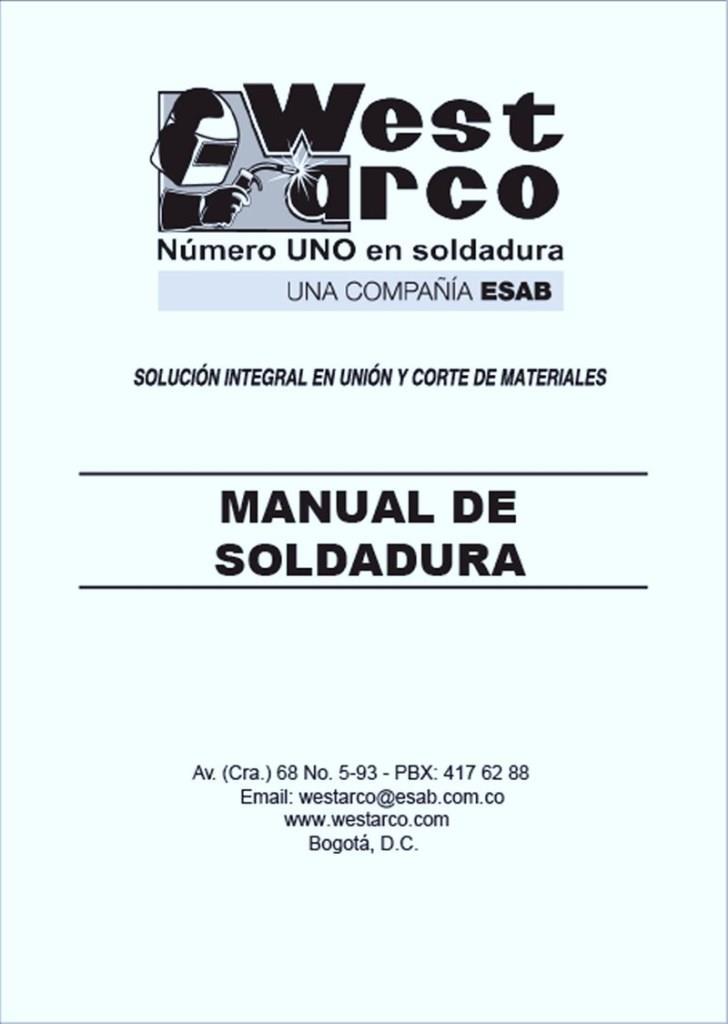 Manual de soldadura WEST ARCO