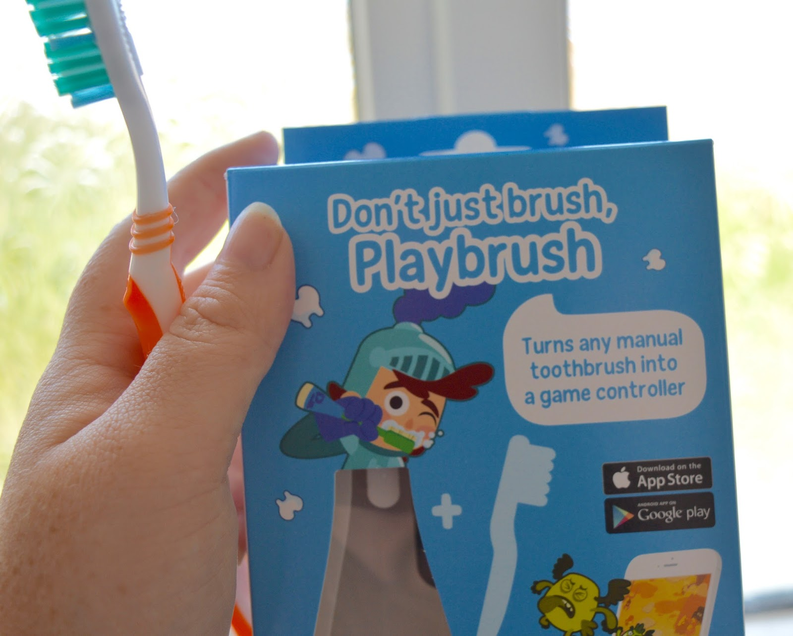 Don't just brush, Playbrush review | Turn your child's toothbrush into a fun game