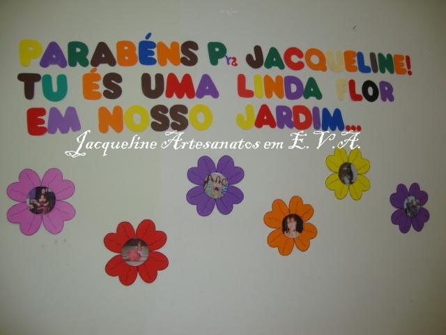 Parabéns Querida Pastora: Jacqueline E Vyctor Artesanatos Em E.V.A.: 07/08/2011