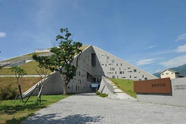 【台灣遊】華麗建築美學 國立台東大學圖書館