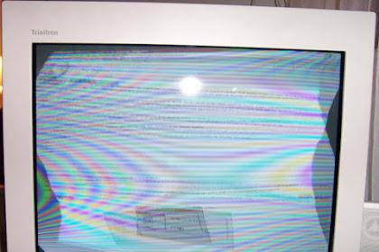 Cara memperbaiki tv rusak horizontal