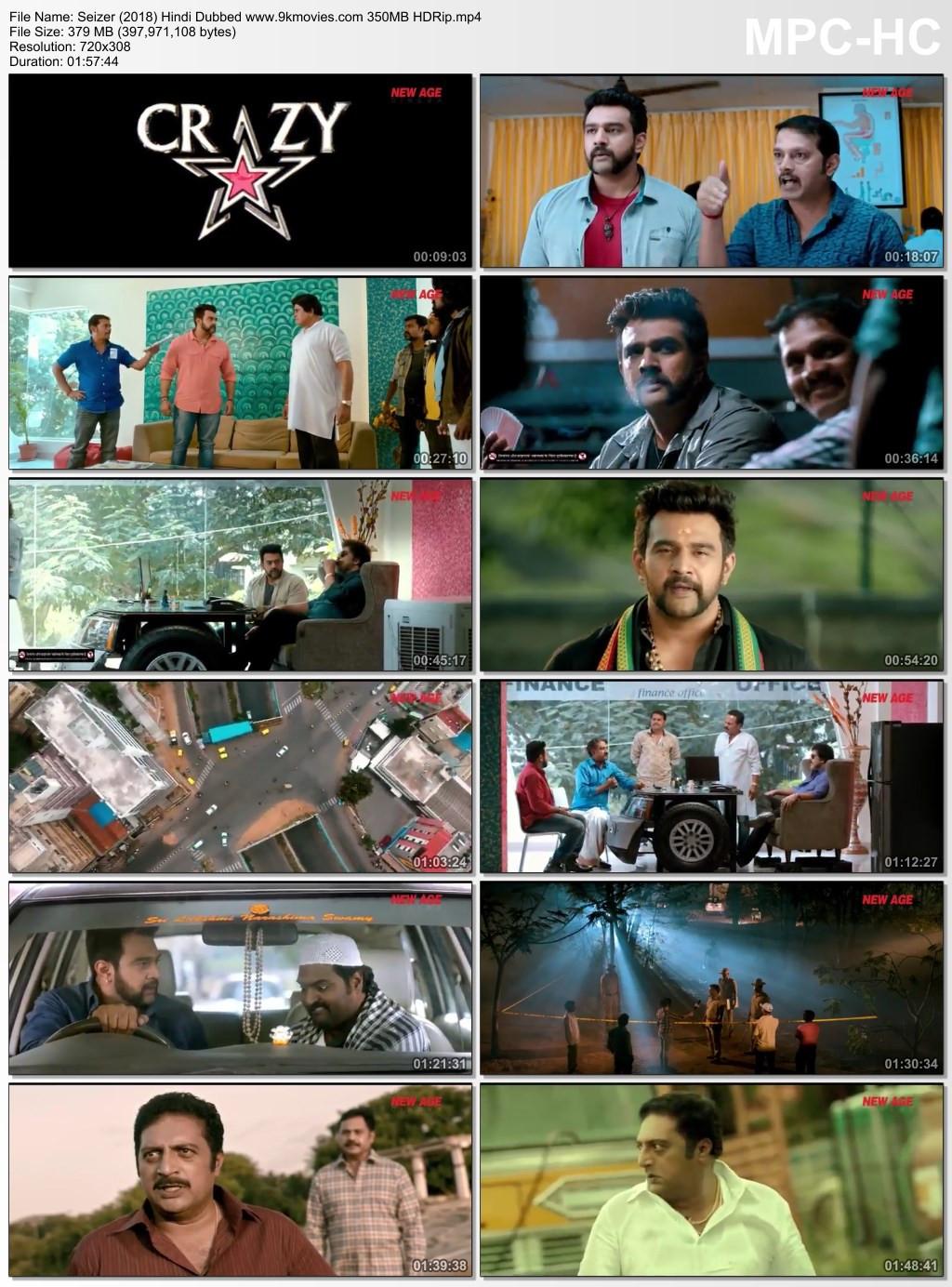 Seizer 2018 Hindi Dubbed Movie download Free HD watch online