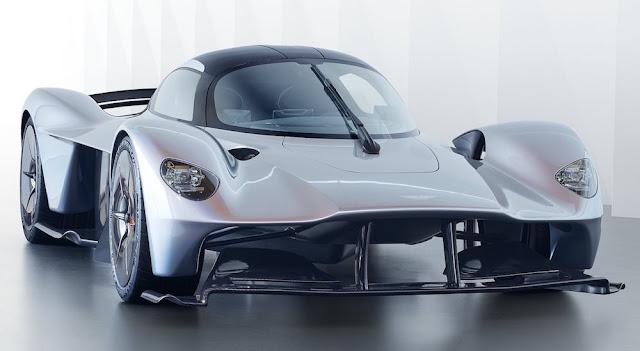 """アストンマーティン、「ヴァルキリー」に続く第3のハイパーカー「プロジェクト""""003""""」を開発中!"""