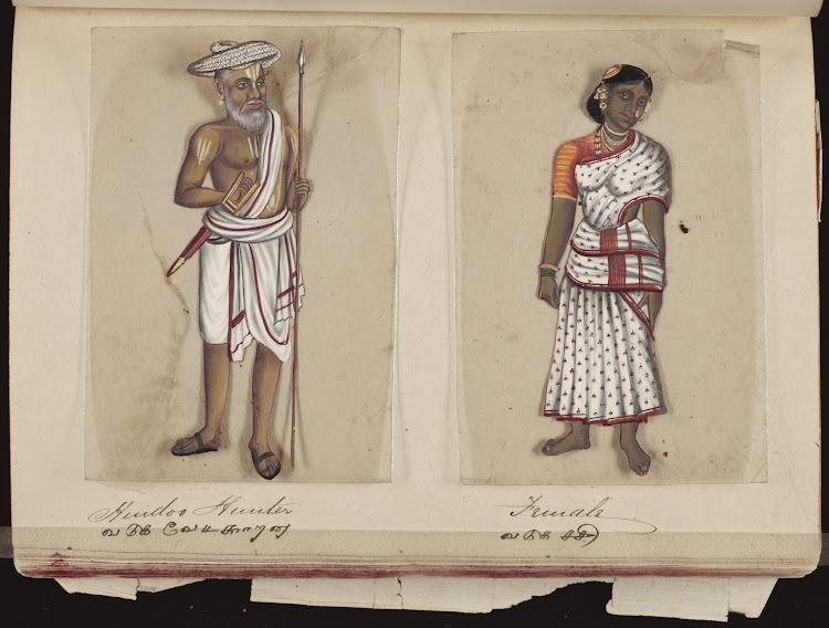Hindoo hunter and Female