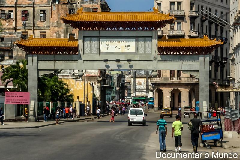 Chinatown em Havana; Cuba