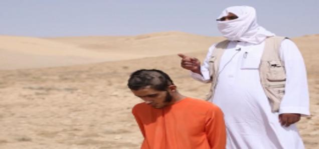 داعش يعدم عنصرا من نظام الأسد بطريقة جديدة لم تخطر على بال أحد