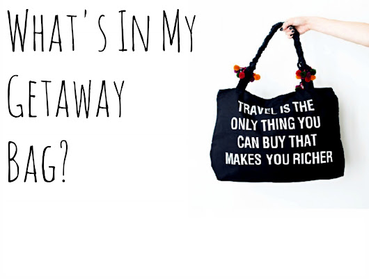 "What's In My Getaway ""Go Bag""? - Girl Meets World"