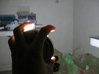 Lampu Dari Toples Bekas