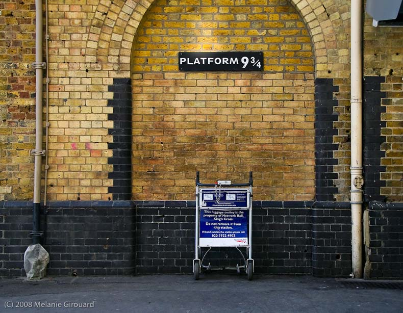 Plataforma 9 3/4 en Kings Cross   Reino Unido