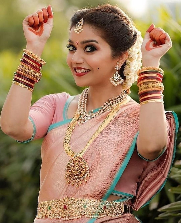 Actress Swathi Wedding Jewellery
