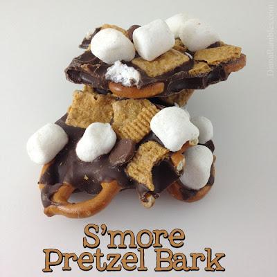 smore pretzel bark recipe