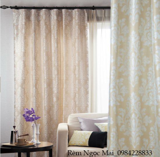 [Rèm Lào Cai] Cách chọn rèm cửa phòng khách theo từng không gian