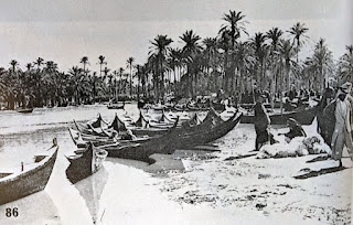Madan boats on market day