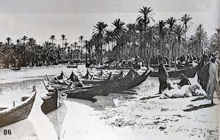 Madan boats on market day